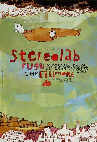 Stereolab Poster