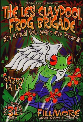 Les Claypool's Frog BrigadePoster