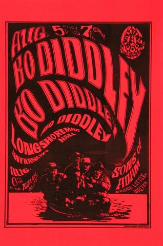 Bo DiddleyHandbill