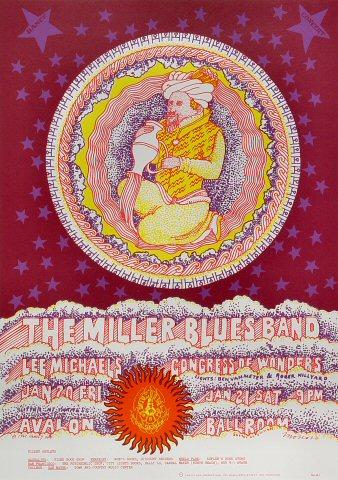 The Steve Miller Blues BandPoster