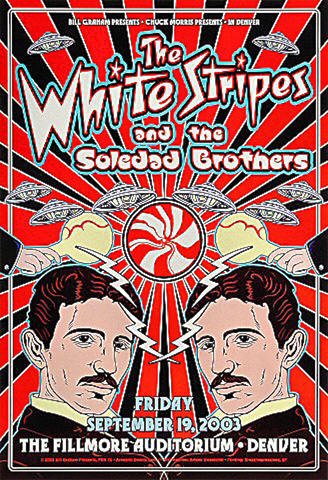 The White Stripes Poster
