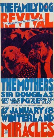 Mothers of Invention Handbill