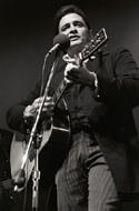Johnny Cash Premium Vintage Print