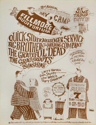 Quicksilver Messenger ServiceHandbill