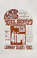 The Four Tops Handbill