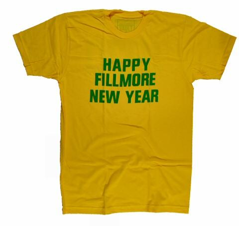 Happy Fillmore New Year Men's Retro T-Shirt