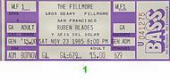 Ruben Blades y Son de Solar1980s Ticket