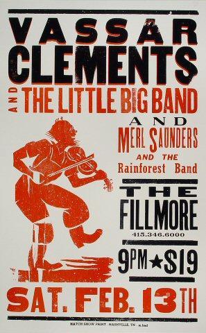Vassar Clements & the Little Big Band Poster