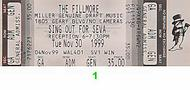 David Nelson Band 1990s Ticket