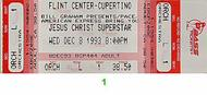 Jesus Christ Superstar 1990s Ticket