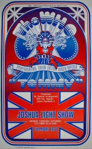The Who Poster from Oct 20, 1969