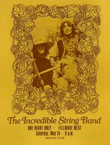 The Incredible String BandProgram