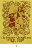The Incredible String Band1960s Ticket
