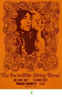 The Incredible String Band 1960s Ticket
