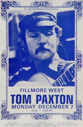 Tom Paxton Handbill