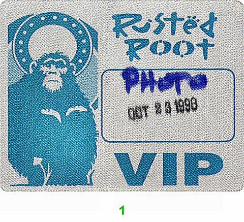 Rusted RootBackstage Pass