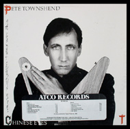 Pete Townshend Framed Album Cover