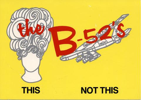 The B-52's Postcard