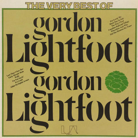 Gordon Lightfoot Vinyl (Used)