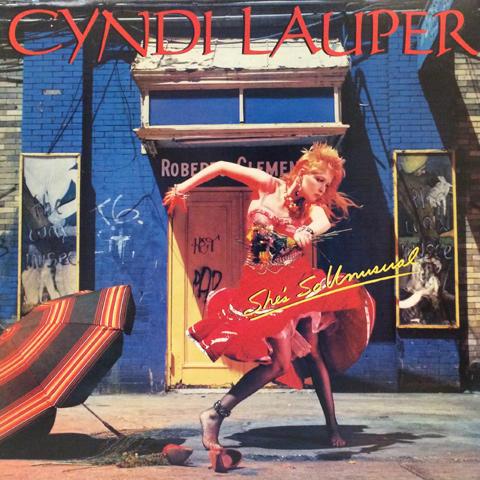 "Cyndi Lauper Vinyl 12"" (Used)"