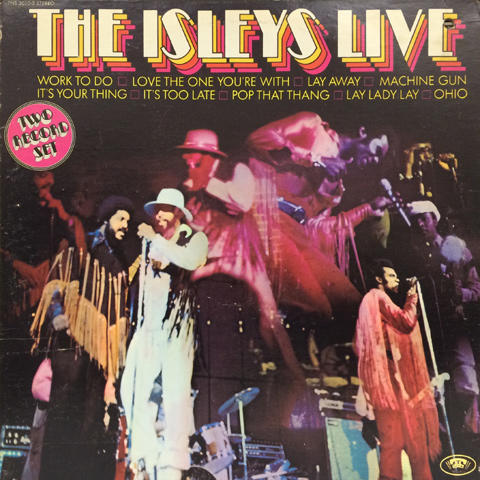 The Isley Brothers Vinyl (Used)
