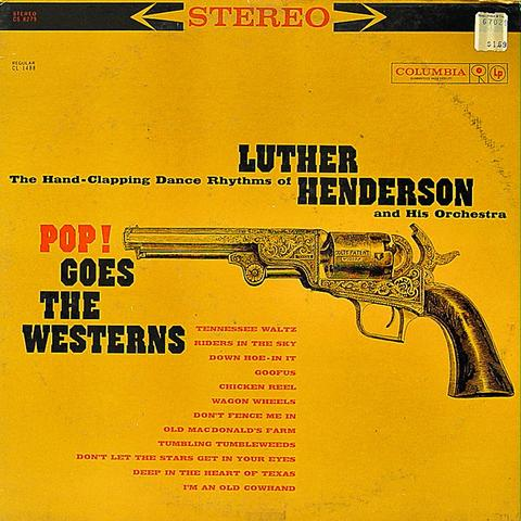 """Luther Henderson and His Orchestra Vinyl 12"""" (Used)"""