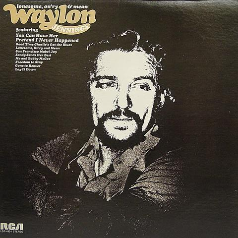 Waylon Jennings Vinyl (Used)