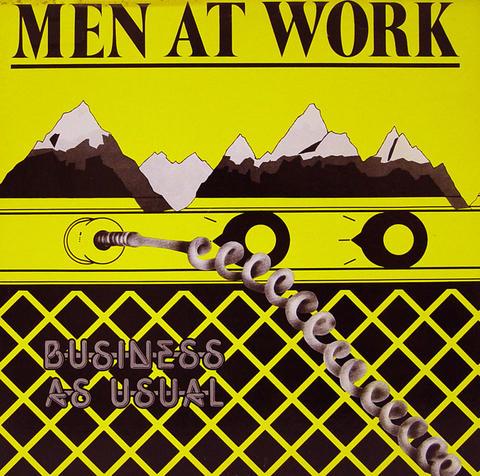 """Men at Work Vinyl 12"""" (Used)"""