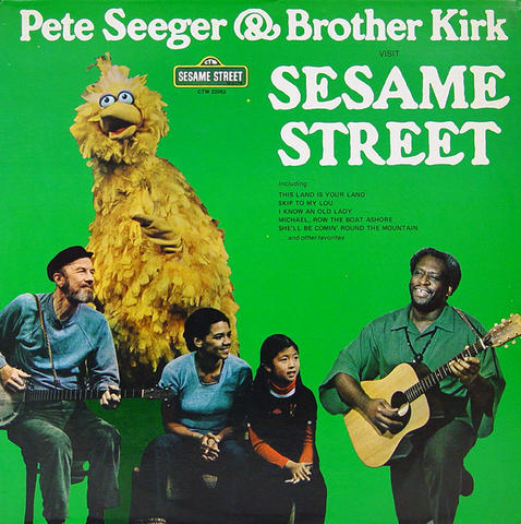 Pete Seeger Vinyl (Used)