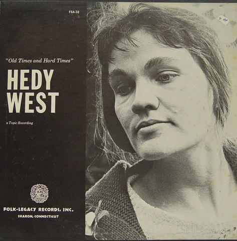 """Hedy West Vinyl 12"""" (Used)"""