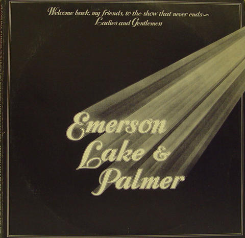"Emerson, Lake & Palmer Vinyl 12"" (Used)"