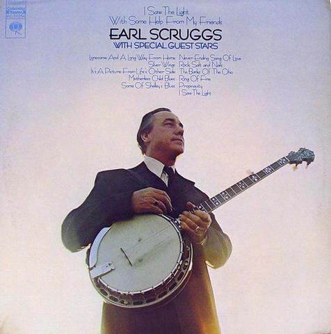 """Earl Scruggs Vinyl 12"""" (Used)"""