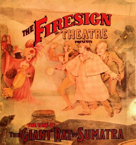 Firesign Theatre Sticker
