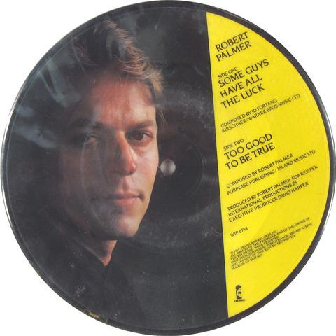 "Robert Palmer Vinyl 7"" (Used)"
