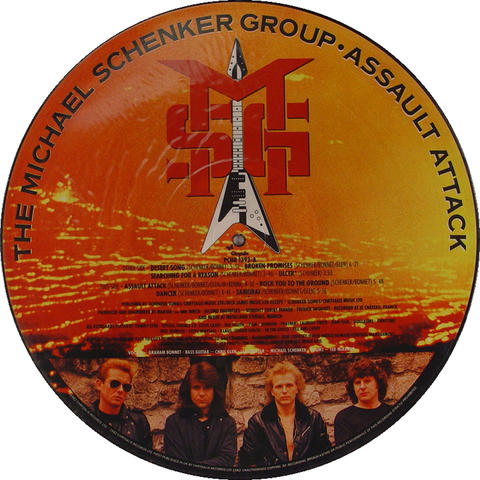 """The Michael Schenker Group Vinyl 12"""" (New)"""