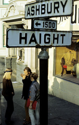Haight Ashbury Street SignFine Art Print