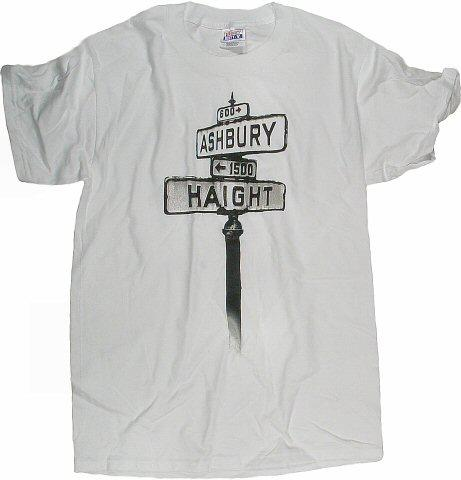 Haight Ashbury Street Sign Men's Vintage T-Shirt
