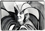 A Hippie WomanPremium Vintage Print