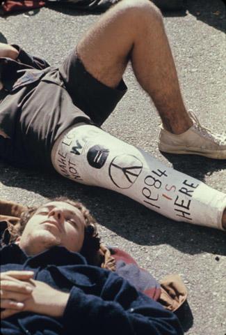Protestors Fine Art Print