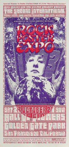Rock Poster Expo Handbill