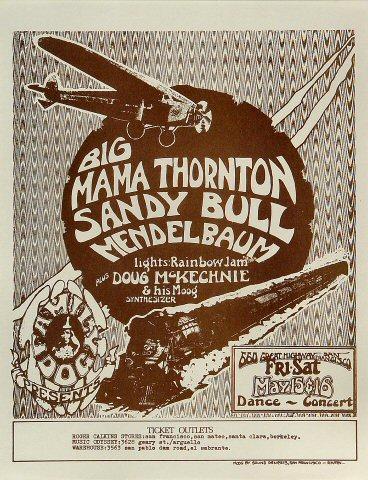 Big Mama Mae ThorntonHandbill