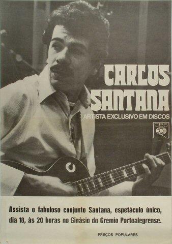 Carlos SantanaPoster