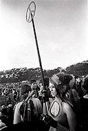 Hippie ChickPremium Vintage Print