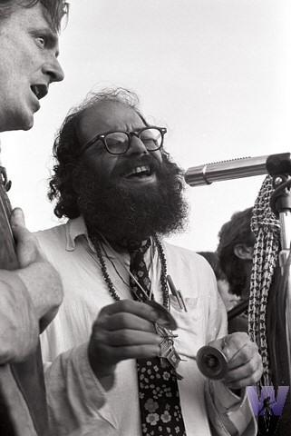 Allen Ginsberg Vintage Print
