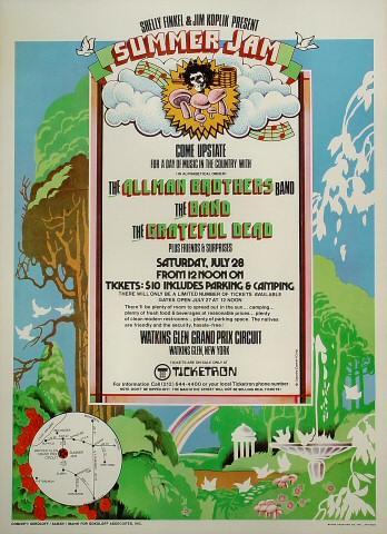 Watkins Glen Summer Jam Poster