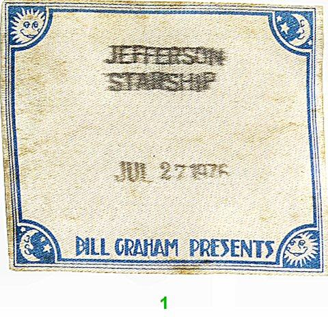 Jefferson StarshipBackstage Pass