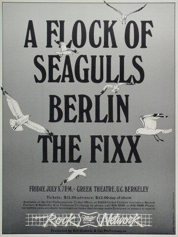 A Flock of Seagulls Poster
