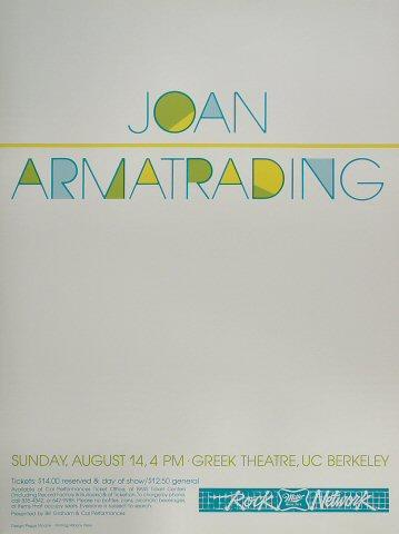 Joan ArmatradingPoster