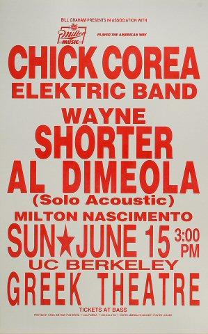 Chick Corea's Elektric BandPoster
