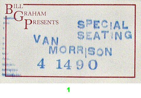 Van MorrisonBackstage Pass
